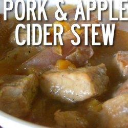 Apple Cider Pork Stew