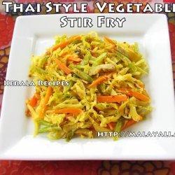 Thai-Style Stir-Fry Vegetables