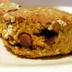 Spiced Pumpkin & Pecan Scones With Cinnamon Chips