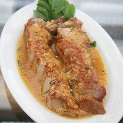 Pork Loin With Fruit Sauce