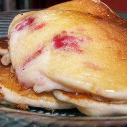Purple Velvet Pancakes (All Natural!)