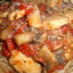 Valarie's Chicken Bruschetta