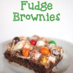 Gooey Marshmallow Brownies
