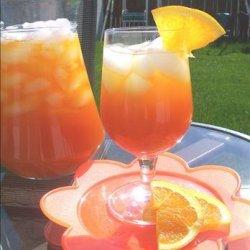 Iced Mandarin Orange Tea