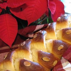 Golden Eggnog Holiday Braid Recipe recipe