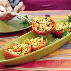 Stuffed Tomatoes (Vegetarian)