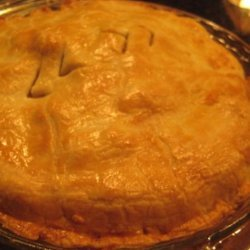 Salmon Pie With Egg Sauce