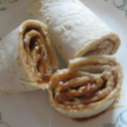 Peanut Butter and Jelly Wraps