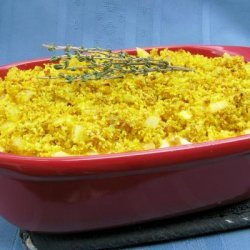 Four-Cheese Macaroni With Curry Crunch recipe