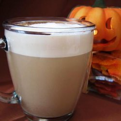 Almond Butterscotch Latte
