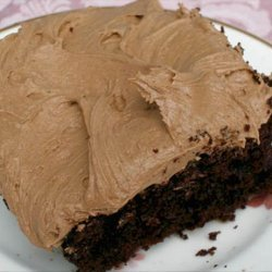 Amazingly Easy Chocolate Buttercream Frosting