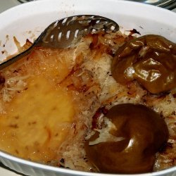 Baked Pork Chops and Sauerkraut