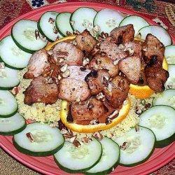 Caribbean Pork Kabobs