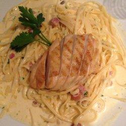Pasta With Carbonara Sauce
