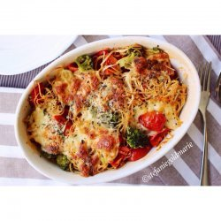 Broccoli Mozzarella Casserole