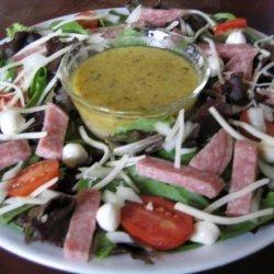 Chopped Salad With Italian Vinaigrette