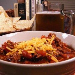 American Cantina Chili recipe