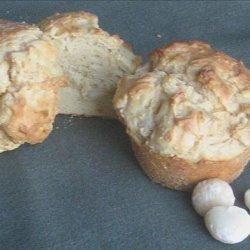 Low Carb Macadamia Nut & Mock Banana Muffins