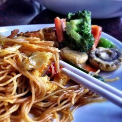 Pf Chang's Garlic Noodles Recipe