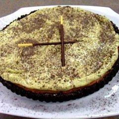 Chocolate Pistachio Cheesecake