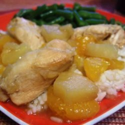 Hawaiian Slow Cooker Chicken Part 2