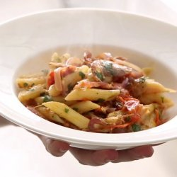 Penne with Pancetta
