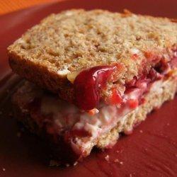 Jammy Cream Cheese Sandwich
