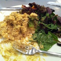 Curried Couscous and Chicken Salad.