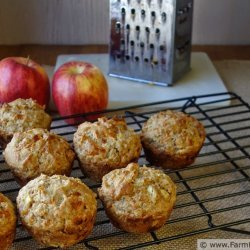 Apple-Cheddar Muffins