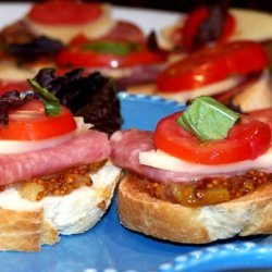 Antipasto With Provolone recipe