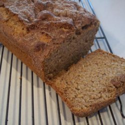 Cinnamon-Topped Banana Bread
