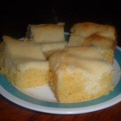 Lemon Cream Cheese Brownies