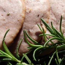 Olive Oil Cookies With Red Wine and Rosemary
