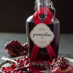 Homemade Pomegranate Syrup