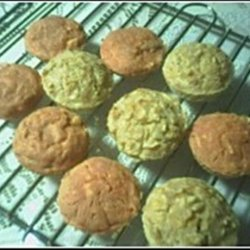 Healthy Apple ,and Honey of Oats Muffins