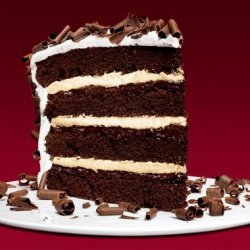 Devils Food 4 Layer Cake With Peppermint Frosting