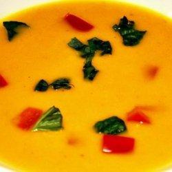 Coconut-Carrot Soup