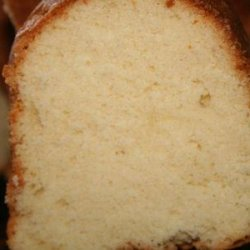 Mary Jarrell's Pound Cake recipe