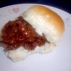 BBQ Beef on a Bun