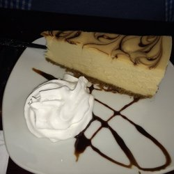 White Chocolate Espresso Cheesecake