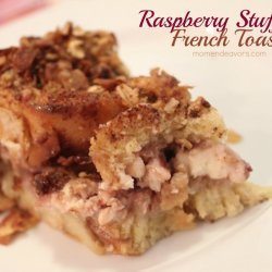 Raspberry-Stuffed French Toast