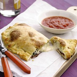 Calzone With Three Cheeses