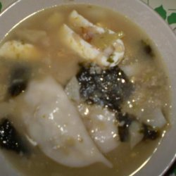 Korean Rice Cake Soup (Duk Guk) recipe