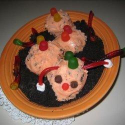 Frosty Caterpillar Dessert recipe
