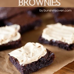 Peanut Butter Frosting for Brownies