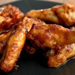 Apple BBQ Sauce Chicken Wings
