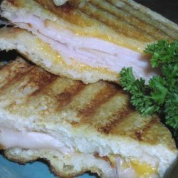 Hot Turkey and Cheddar Cheese Sandwiches