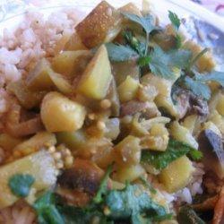 One-Pot Mushroom and Potato Curry