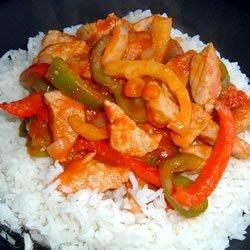 Pork and Pepper Stew recipe