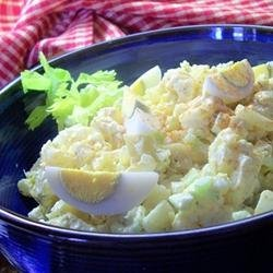 Creamy potato salads